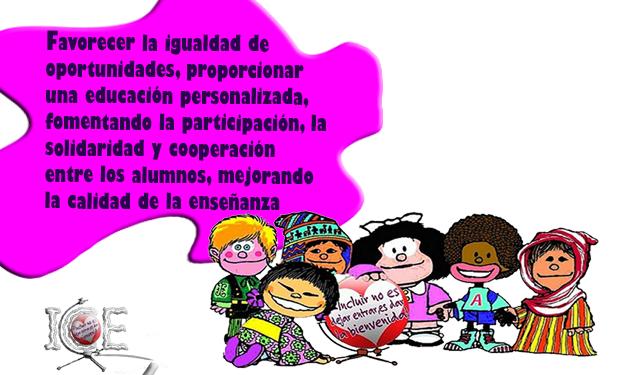 La Escuela Inclusiva Principios Y Objetivos 2º Parte Inclusión Y Calidad Educativa